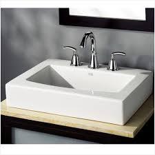 counter sinks bathroom modern looks american standard bathroom