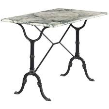 Marble Bistro Table Vintage French Marble Top Iron Base Bistro Table 1970s Ref 16077