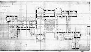House Layout Drawing by Biltmore House Floor Plan Drawings Plans Paintings And