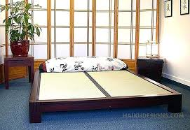 Japanese Futon Bed Frame Japanese Futon Bed Myubique Info