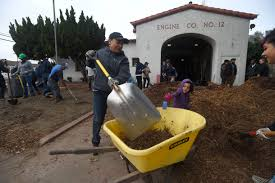 gardening with natives surfrider foundation north long beach gets a community garden thanks to mlk day