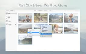 Phot Albums Wix Photo Albums On The Mac App Store