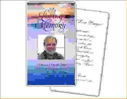 funeral card template 12 funeral card templateagenda template sle agenda template