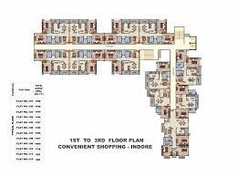 Podium Floor Plan by Ansal Housing