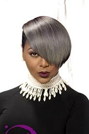 black women short grey hair short hairstyles