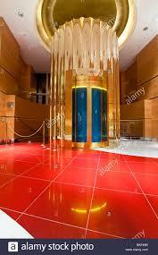 interior of the luxurious hotel burj al arab dubai united arab