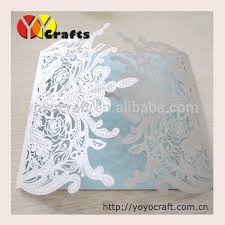 2014 new and best sell crown shape unique invitation card for