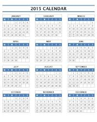 printable calendar year on one page year calendar 2015 word gidiye redformapolitica co