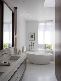 Neutral Color Bathrooms - remarkable neutral color scheme and oval white bathtub also small