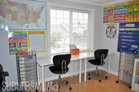 suburbs mama home office aka home room