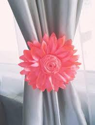 Nursery Curtain Tie Backs by Shabby Chic Coral Curtains Showy Nursery Curtain Tie Back Pcs Durdor