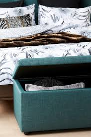 sienna upholstered blanket box ghost bedroom furniture forty winks