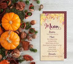 thankgiving menu cards jen t by design