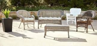 patio wicker furniture shop by department outdoor and patio