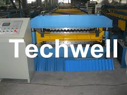 18 forming stations double layer roll forming machine for ibr