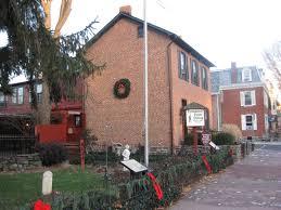 sweney house farnsworth house christmas decorations gettysburg
