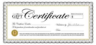 gift certificates gift certificates concierge cherry hill nj the bidwell