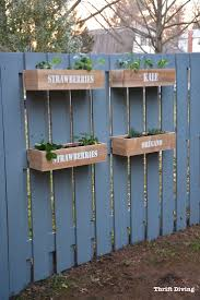 Build Vegetable Garden Fence by Best 25 Fence Planters Ideas On Pinterest Wooden Garden