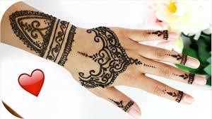 henna tutorial 6 ganze hand und handgelenk sanny kaur youtube