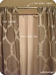 bathroom appealing double shower curtain ideas unique houzz