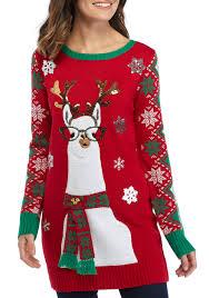 ugly christmas sweaters funny u0026 tacky belk