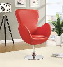 amazon com coaster home furnishings 902101 leisure swivel chair