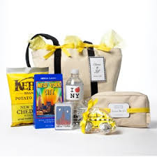 nyc gift baskets a nyc themed welcome bag can make rochester ny themed bags
