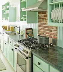 meuble cuisine vert meuble de cuisine vert d eau maison et mobilier d intérieur