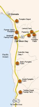 california map half moon bay half moon bay pumpkin patches map half moon bay ca