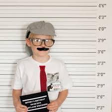 mugshot backdrop party printable mug photo booth backdrop and prop