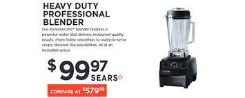 black friday blender sales sears u0027 black friday sale is live insider deals canada