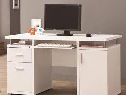 Lockable Desk Furniture Computer Desk With Keyboard Tray Undermount Keyboard