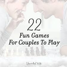 for couples for couples to play