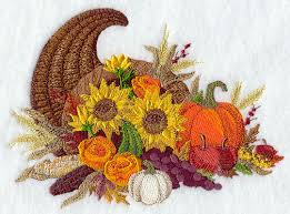 thanksgiving bouquet machine embroidery designs at embroidery library embroidery library