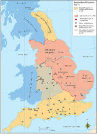 York England Map by Vikings In The West Weapons And Warfare
