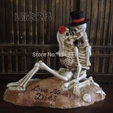 buy skull cake topper and get free shipping on aliexpress com