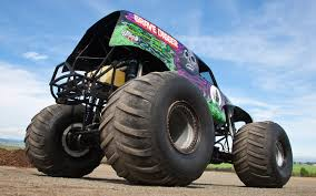 monster truck power wheels grave digger going for a ride in grave digger video motor trend