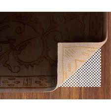 How To Stop A Rug Slipping On Wooden Floors Rug Padding U0026 Grippers Rugs The Home Depot