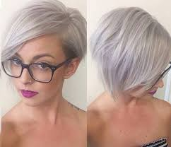 Trend Kurzhaarfrisuren Damen by Kurzhaarfrisuren Damen 2016 Graue Haare Mit Brille Frisuren