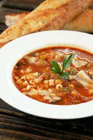 Italian Soup by Pasta E Fagioli Soup With Italian Sausage Creole Contessa
