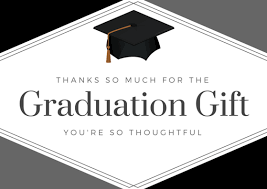 graduation thank you card graduation thank you card printables thank you note wording