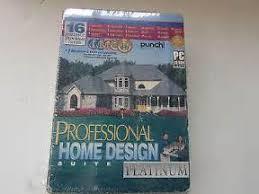 new punch professional home design suite platinum professional