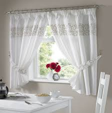 urban natural kitchen curtains kitchendrapes
