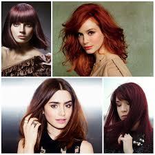 5 best red hair colors u2013 best hair color trends 2017 u2013 top hair