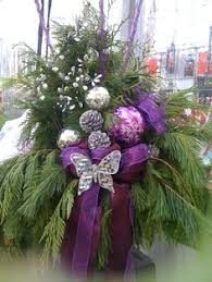 Purple Butterfly Christmas Decorations by Worthing Court Designer Christmas Decorating Tips Christmas