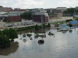 Illinois Flooding Map by National Weather Service Advanced Hydrologic Prediction Service