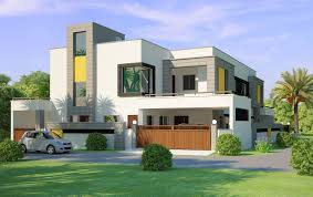 only then front elevation beautiful modern style house design home