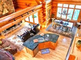 log home open floor plans corglife