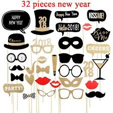 photo booth party props christmas new year photo booth party decoration cutestop