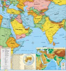Maps Of Middle East by Maps Of Middle East